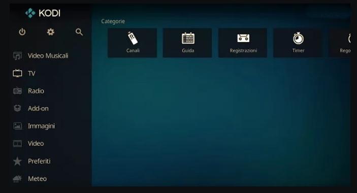 Kodi program IPTV PC