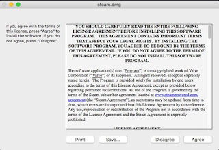 Steam Mac license