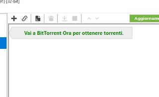 Open torrent