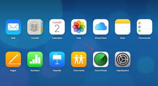 Find iPhone iCloud