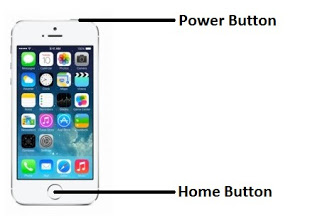 IPhone 5 screenshot keys