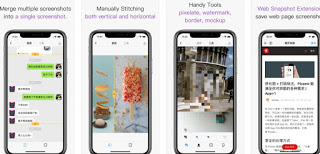 Picsew App - Screenshot Stitching