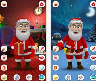 play talking Santa Claus