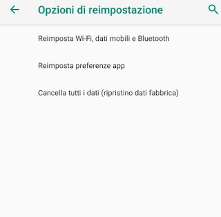 Restore Android