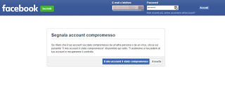 Facebook compromised