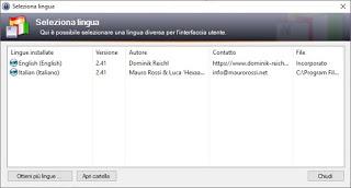 KeePass language