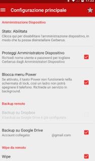 Cerberus anti-theft app