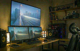 Double monitor