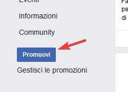 Promote page