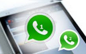 two whatsapp accounts on a phone