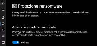 Windows Defender ransomware protection