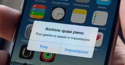 Increase iPhone memory