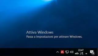 written Activate Windows