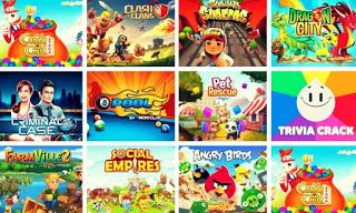 facebook games ranking