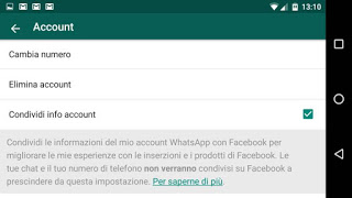 disable info sharing on Facebook