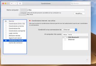 Mac sharing