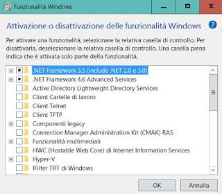 optional Windows 10 functions