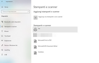 Windows printer