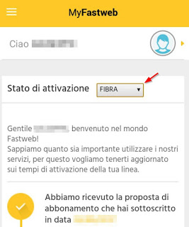 App activation status selector