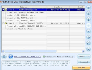 MKV Video2Dvd