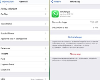 Remove WhatsApp