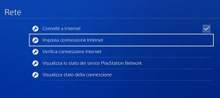 Internet PS4