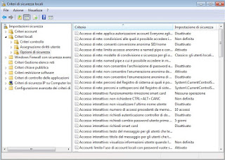 Windows 7 policy