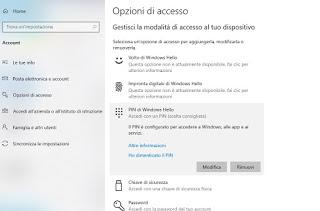 PIN access