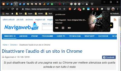 Chrome video control