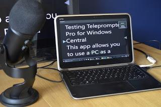 Create teleprompters