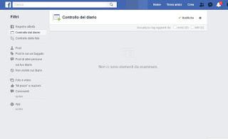 Facebook diary