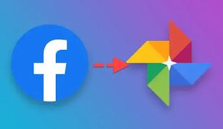 Facebook photo on Google