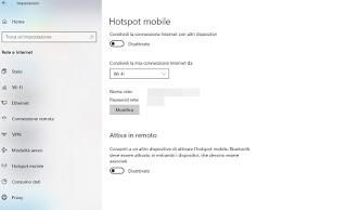 PC hotspot