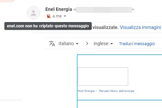 Gmail padlock