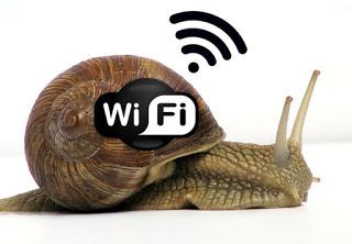 Slowing down Wi-Fi