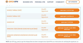 configure OpenVPN