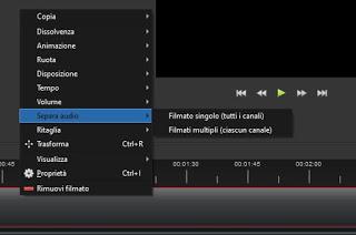 Audio separation