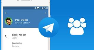 Anonymous telegram