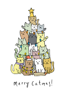 Greeting Card: Merry Catmas !!