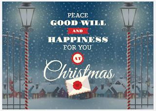 Greeting card: Christmas card