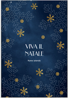 Greeting card: Snowflakes