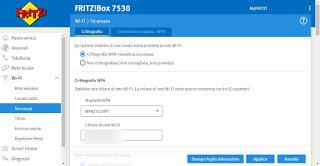 Modem Fritzbox