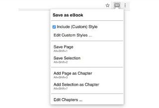 Save as eBook