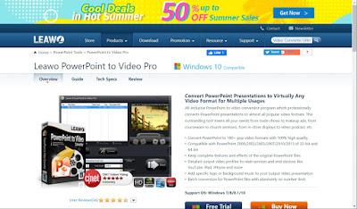 Leawo PowerPoint to Video